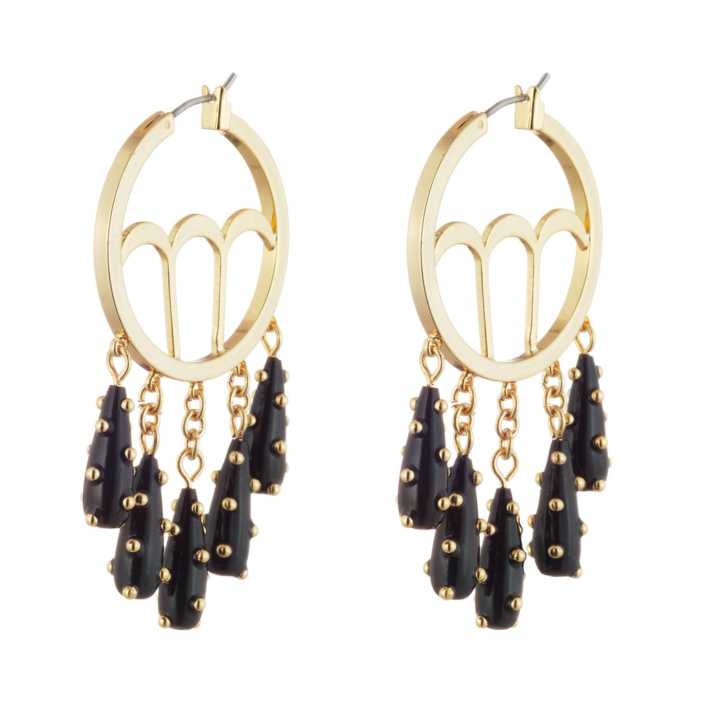 Trafero Circle Hoop Earring