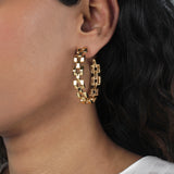 Power Hoop Earring