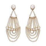 Pearl Ocean Statement Earring