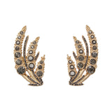 Golden Wheat Stud Earring