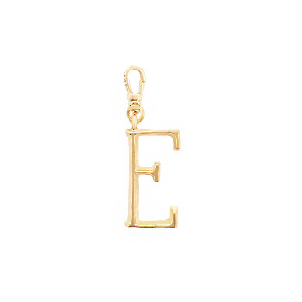 Plaza Letter E Charm - Small - Photo