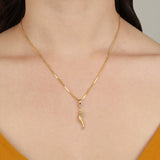 Frost Fine Protection Charm - 14k Gold