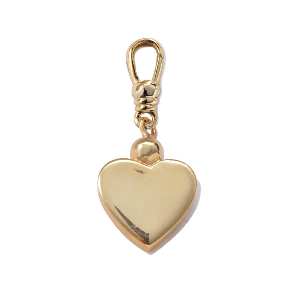 Frost Fine Heart of Gold Charm - 14k Gold