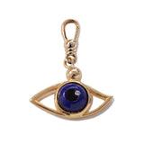 Frost Fine Diamond Evil Eye Charm - 14k Gold