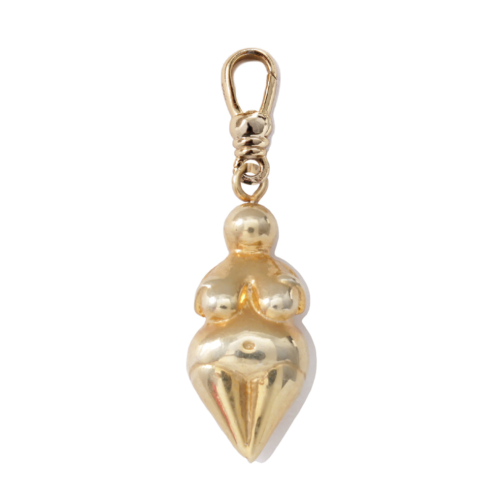 Frost Fine Gaea Charm - 14k Gold