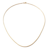 "Frost Fine Box Chain 18"" - 14k Gold"