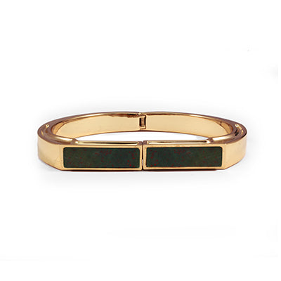 George Frost 14k Gold Plated Portal Cuff- Justice
