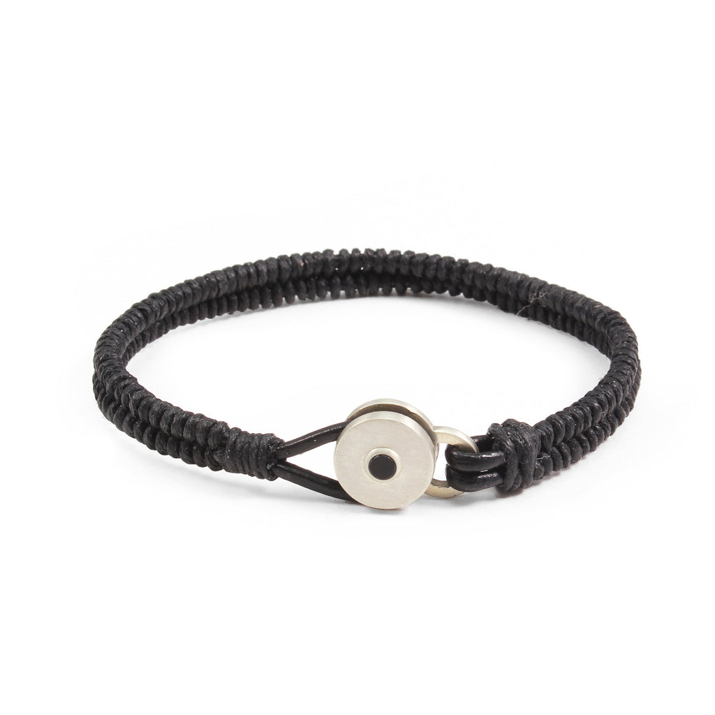 George Frost Brave & New Woven Bracelet - Black - Photo