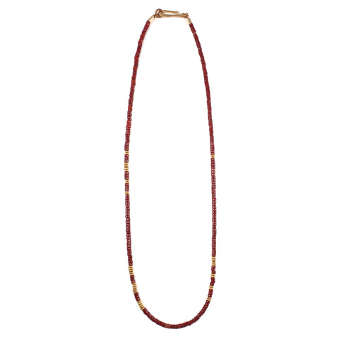 George Frost Morse Code Necklace - Love