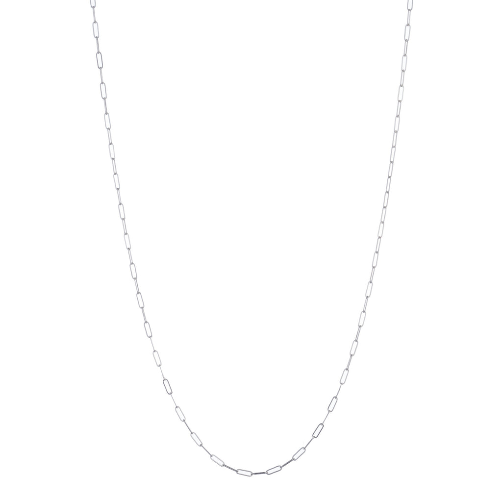 GEORGE FROST STERLING SILVER OVAL LINK CHAIN NECKLACE - Photo