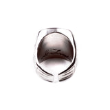 George Frost Usn Ring - White Bronze