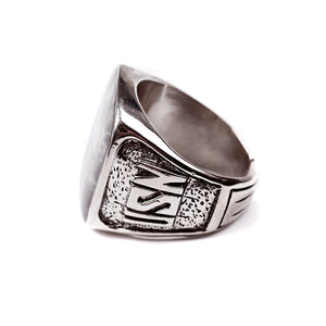George Frost USN Ring - White Bronze - Thumbnail