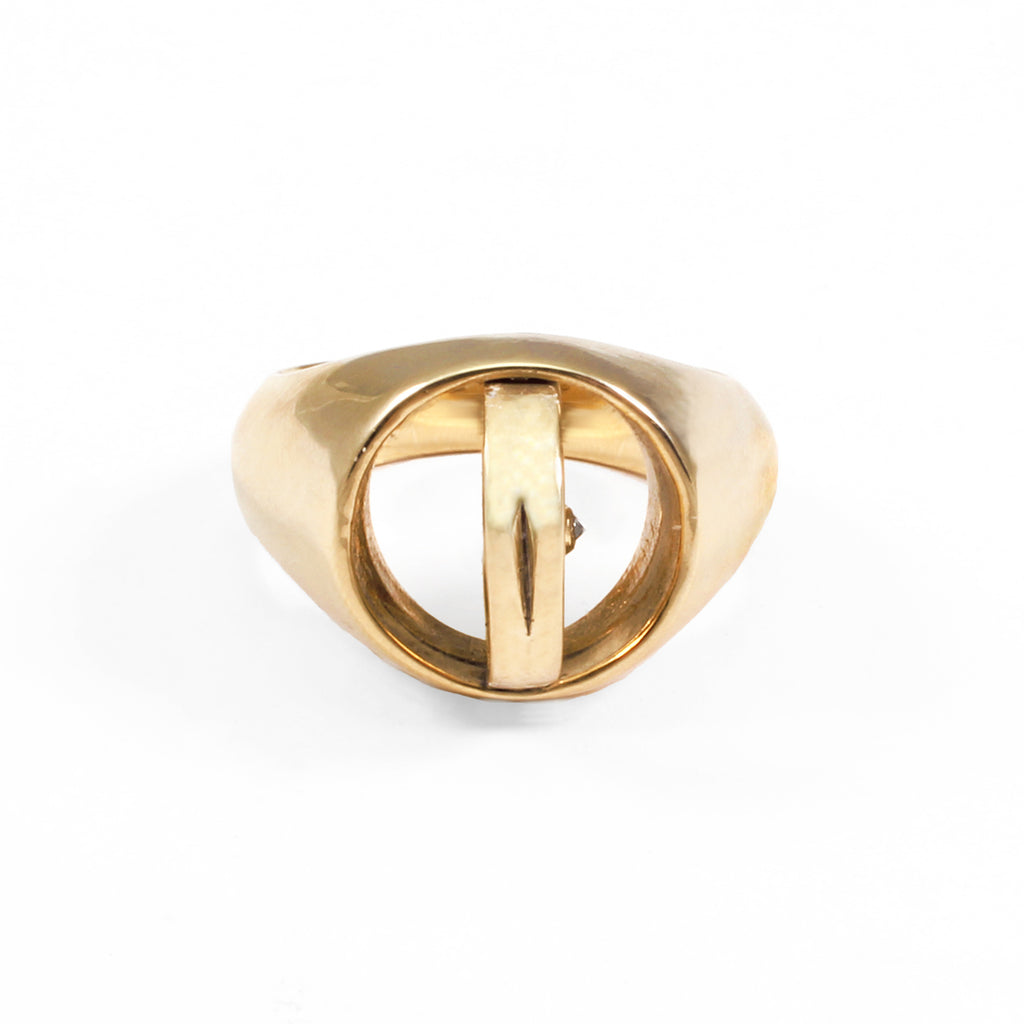 George Frost Poison Ring- Justice - Photo