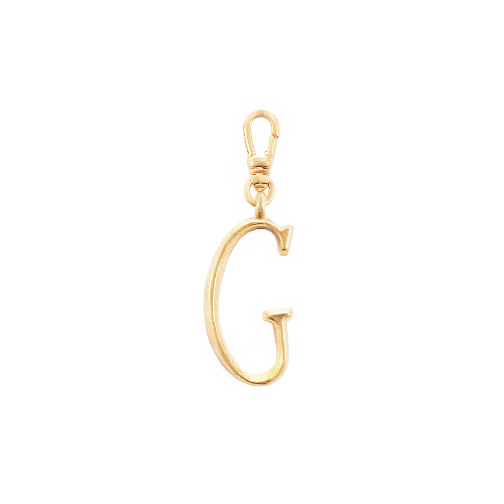 Plaza Letter G Charm - Small