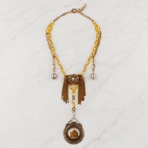1613a1f7b46a9f Vintage Swagged Lumen Jaunt Necklace ...