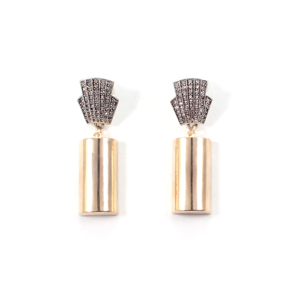 Jane Deco Drop Earrings - Photo