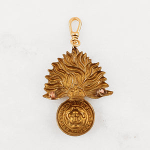 Antique Order Of The Garter Charm - Thumbnail