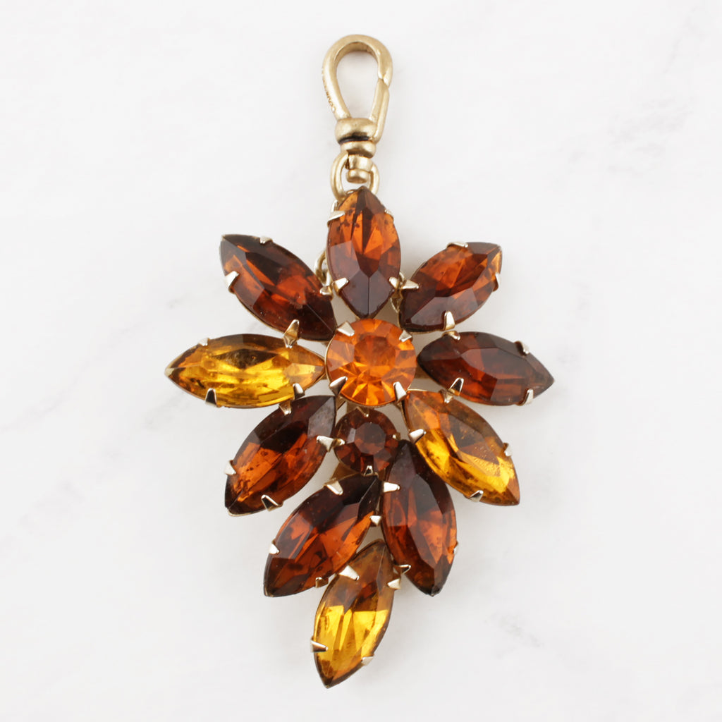 Vintage Saffron and Honey Charm