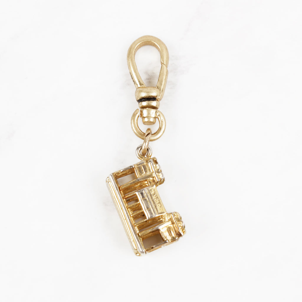 Vintage 12 Karat Gold San Fransico Trolly Hop On Charm
