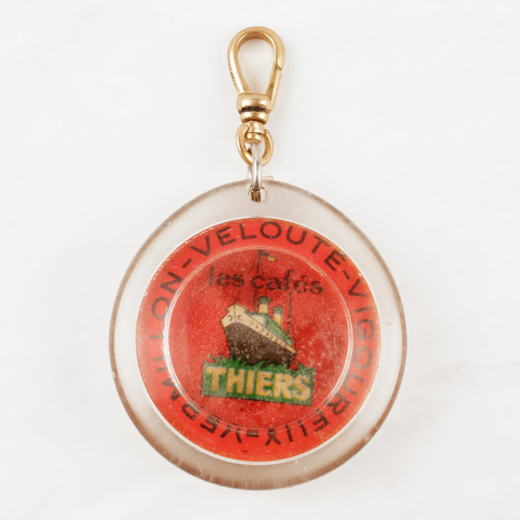 Vintage French Les Cafe Thiers Charm