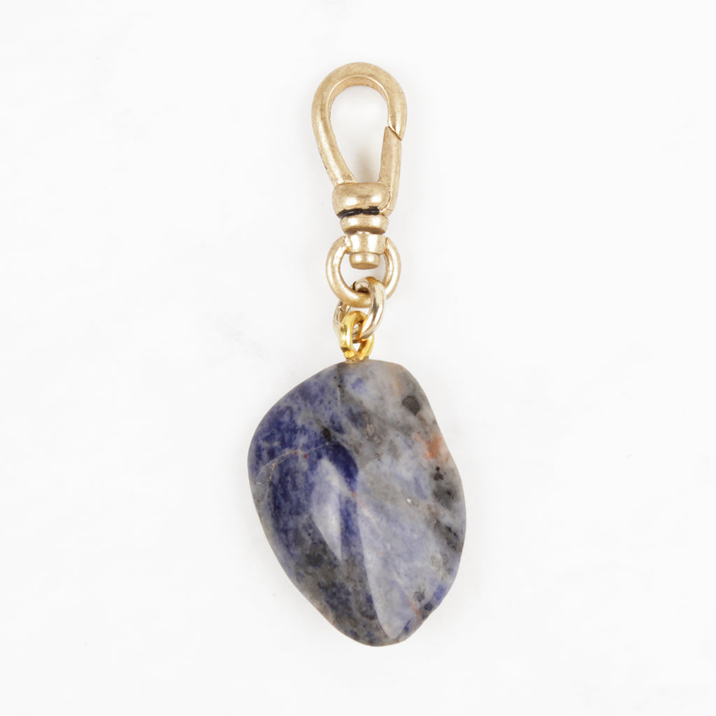 Vintage Santa Fe Sourced Sodalite Charm Intuition Charm