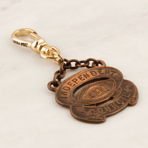 Vintage Independent Council 131 Charm
