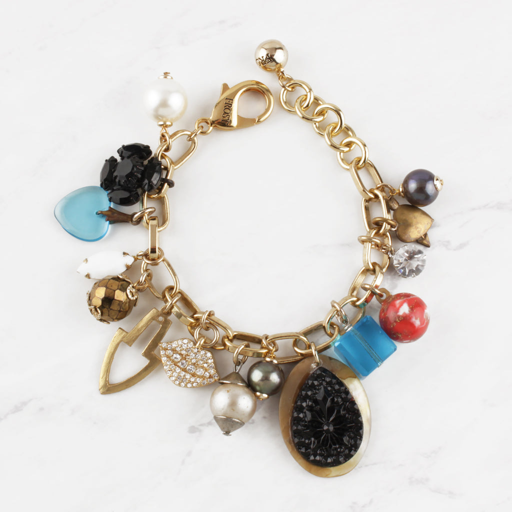 Vintage Readymade Love Always Charm Bracelet