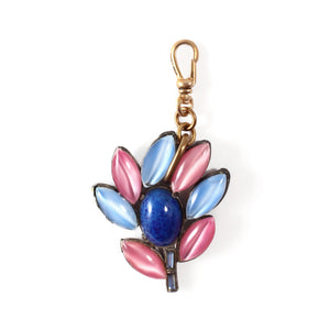 Vintage Moonglow Sprig Charm - Thumbnail