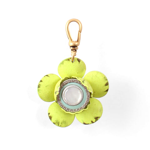 Vintage Layered Flower Charm