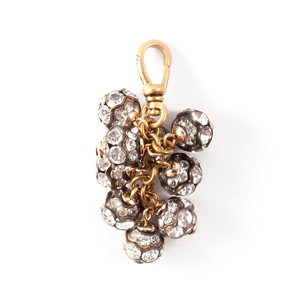 Vintage Crystal Bauble Cluster Charm - Photo
