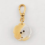 Vintage Layered Mother of Pearl & Horseshoe Charm