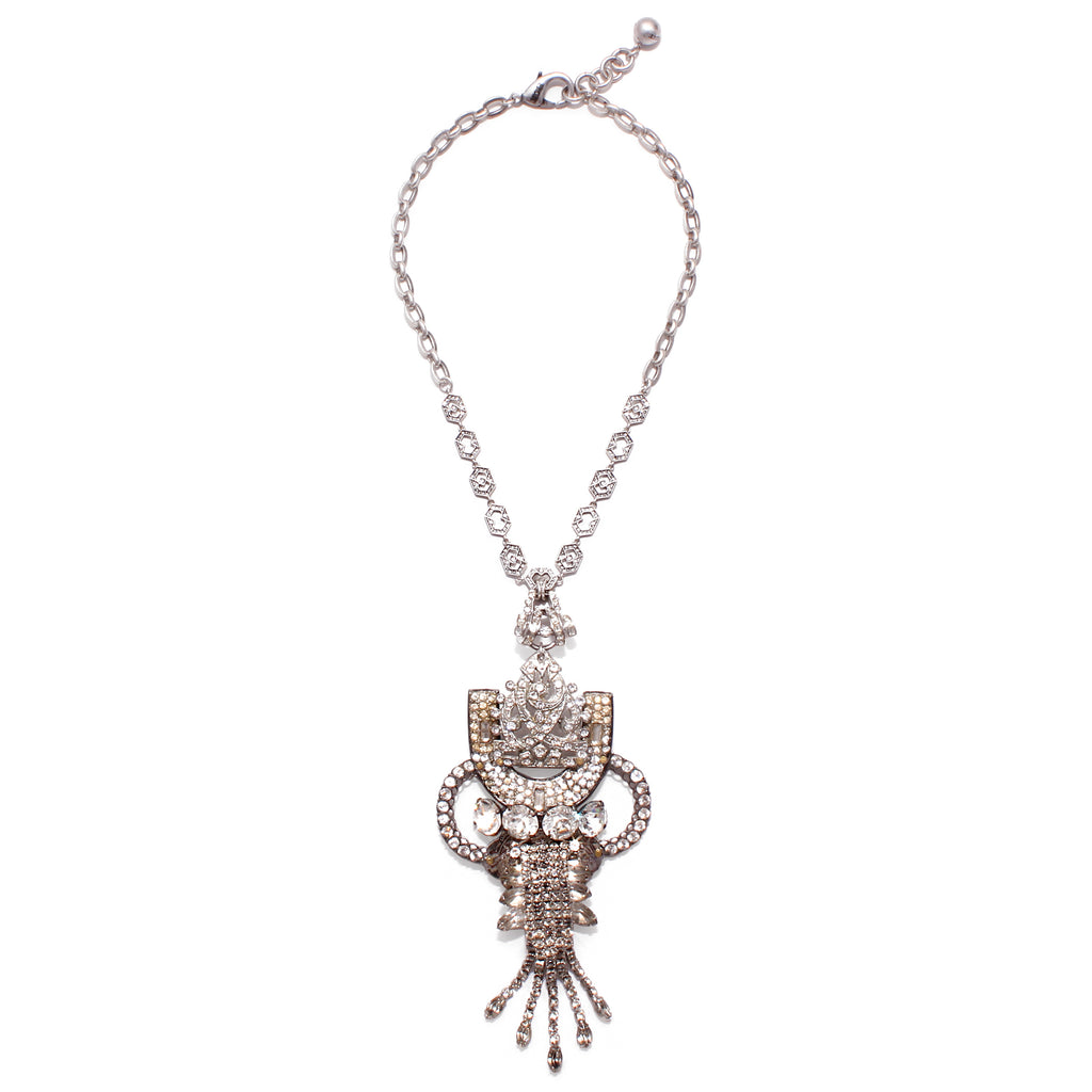 Vintage Crystal Elegance Passage Necklace - Photo