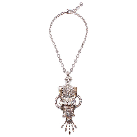 Vintage Crystal Elegance Passage Necklace