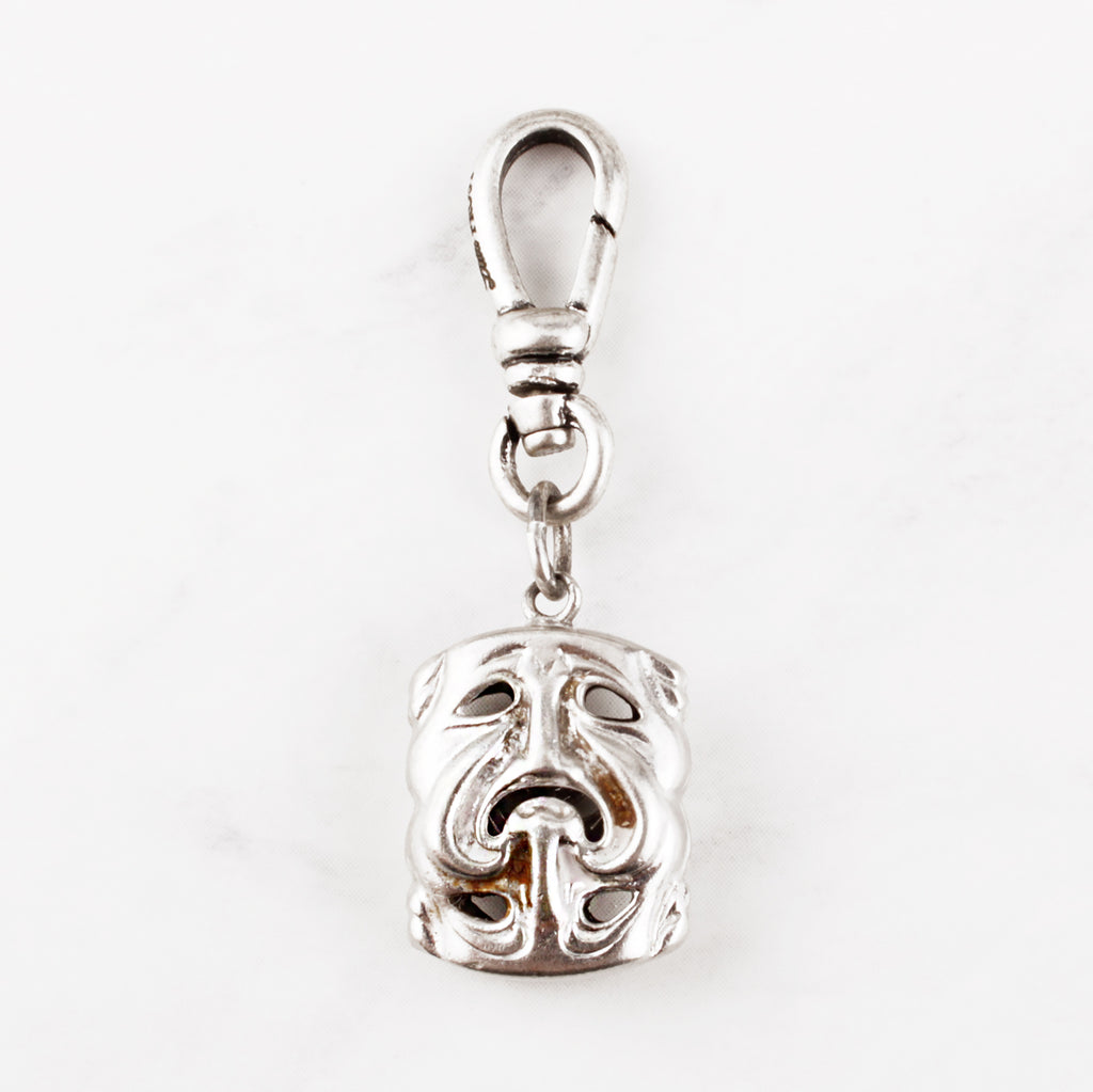 Vintage Comedy Tragedy Charm