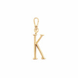 Plaza Letter K Charm - Small