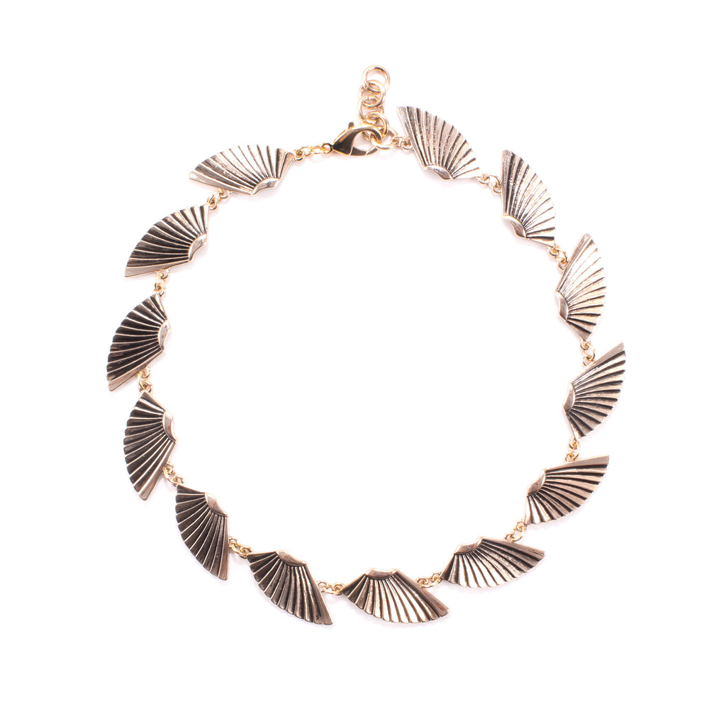 Horizon Riviera Necklace - Gold