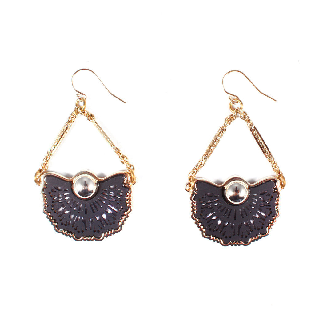 Mantilla Earrings