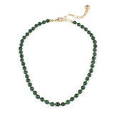 Plaza Natural Malachite Necklace Base