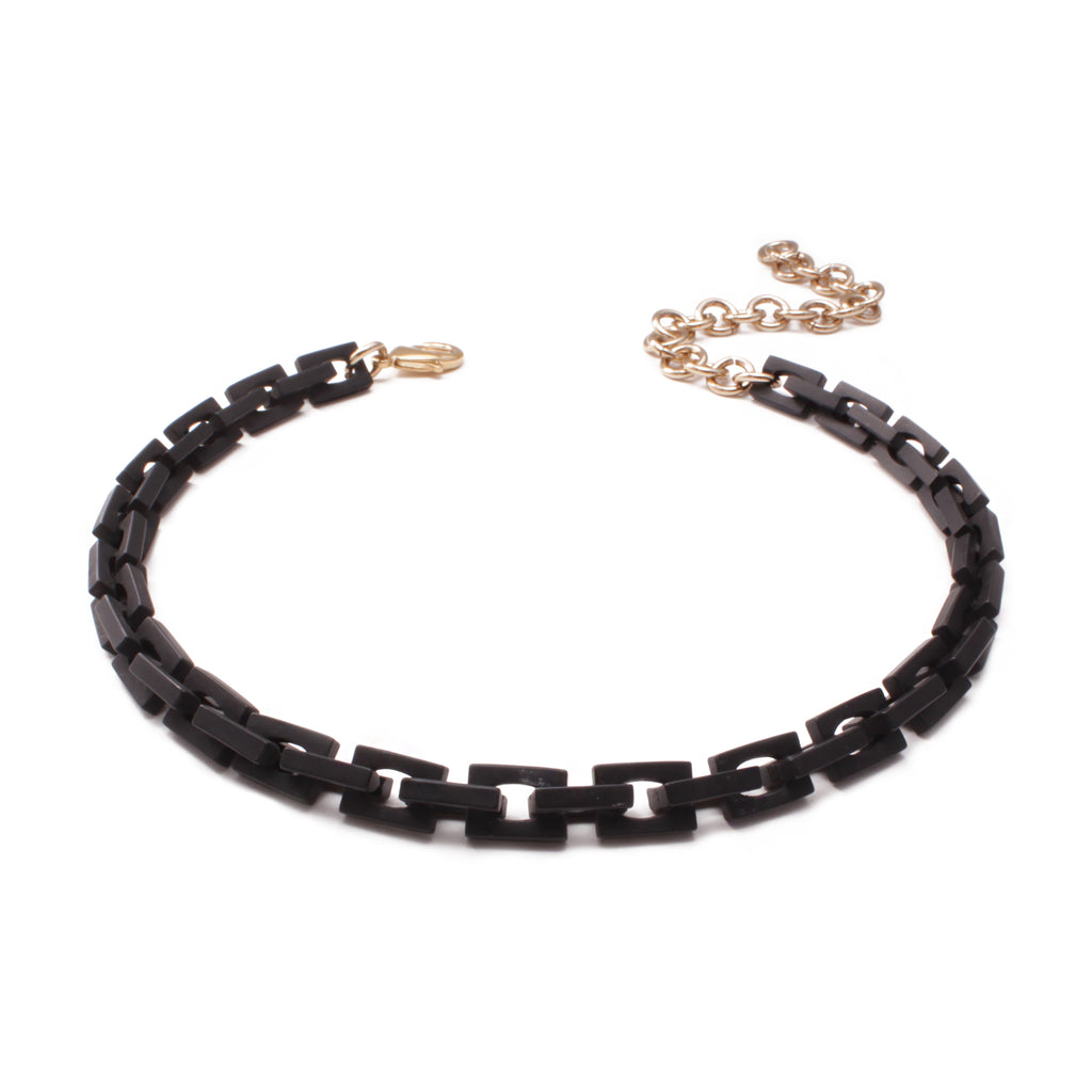 Block Choker - Matte Black