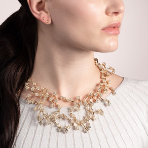 Crystal Jackie Bib Necklace