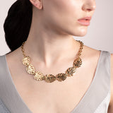 Gold Botanica Midi Necklace