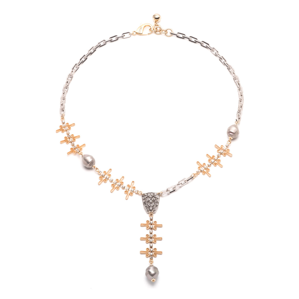 Cloister Y Necklace