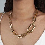 Edge Statement Necklace