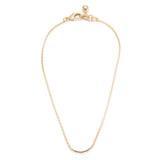 Plaza Bond Short Chain Necklace Base - High Shine