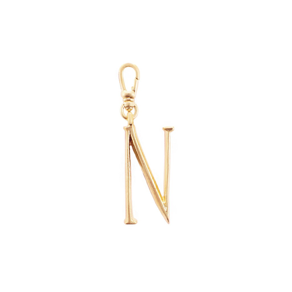 Plaza Letter N Charm - Small - Photo