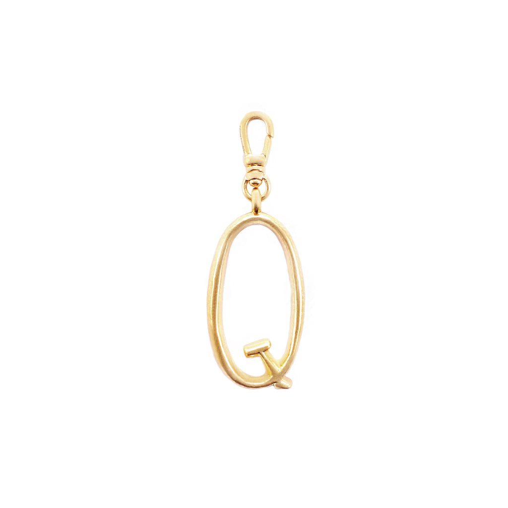 Plaza Letter Q Charm - Small