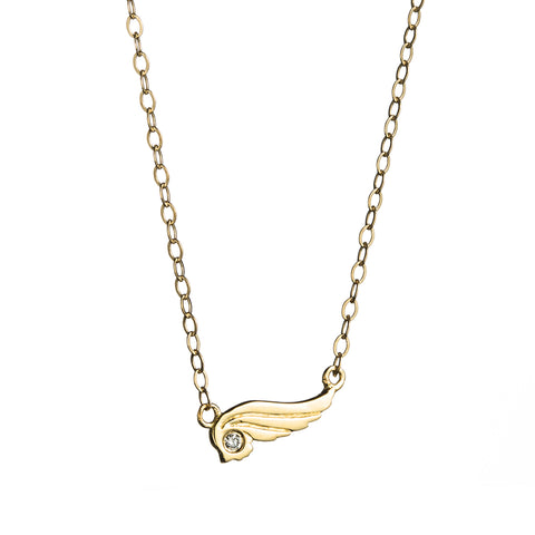 Wing Necklace 18KT