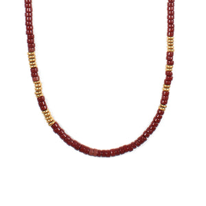 George Frost Morse Code Necklace - Love - Thumbnail