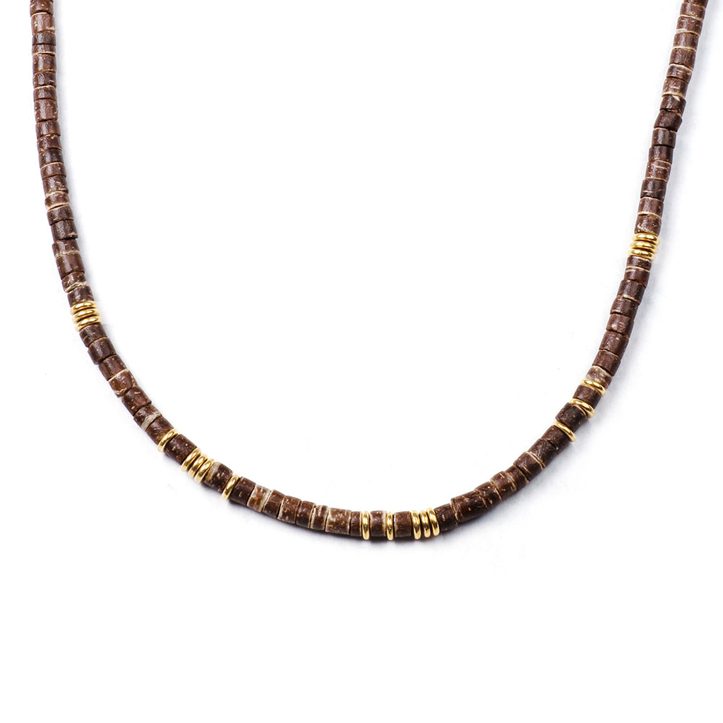George Frost Morse Code Necklace - Trust - Photo