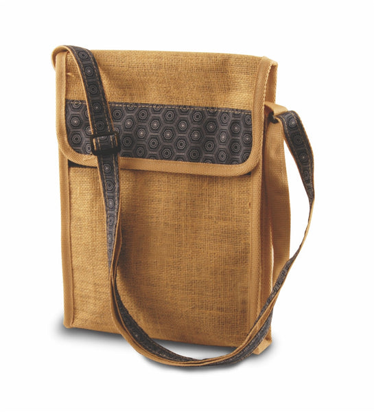 Hessian / Shweshwe / PVC Tablet Sling Bag
